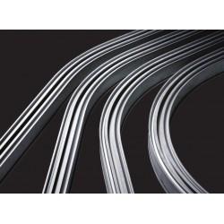 Rails en courbes